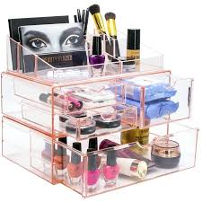 makeup organizer clear acrylic