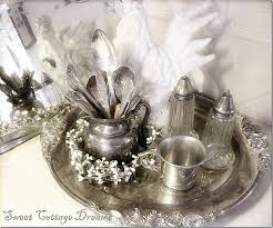 Decorating With Silver Trays 100 best I love silver images on Pinterest Dish sets Antique 50