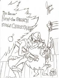 the grinch who stole christmas coloring pages. Cindy Lou Who Cartoon Coloring Pages Printable 14 In How The Grinch Stole Christmas With