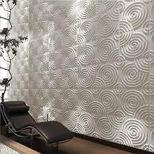 Modern Design 3d Wall Panel Wallpaper ...