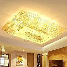 semi flush mount pendant lighting flush chandelier lighting dramatic rectangular shaped crystal flush mount ceiling lights