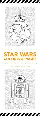 These Star Wars Printable Coloring Pages
