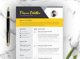 Modern Creative Resume Template Creative Modern Resume V Template By Resume Templates On