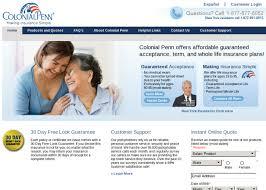 colonial penn life insurance quote mesmerizing penn life insurance company philadelphia pa