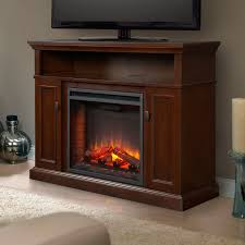 Ashley furniture fireplace console