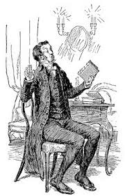 he protested that he never read novels by hugh thomson 1894