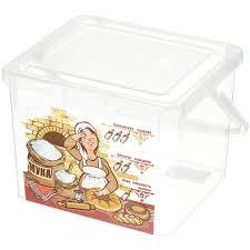 <b>Контейнер пищевой пластмассовый</b> Phibo Для муки С32128, 5.3 л
