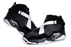 jordan shoes retro 8. air jordan retro 8 black white shoes