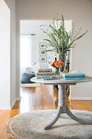 touring the home margo me founder jenny bernheim round table for entryway