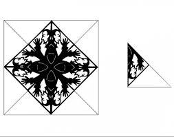 спецпроект M24ru черные снежинки на окна от тату художника