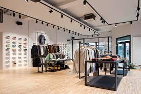 Garments shop decoration furniture design for clothing retail shop design