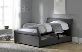 how to make bedroom furniture. Grey Storage Bed How To Make Bedroom Furniture