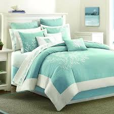 sea green bedding sea green comforter sets best bedroom ideas on white