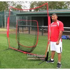 PowerNet Baseball Net 7x7 (RED) - $69.99 Training Nets |