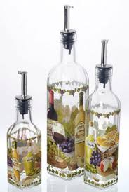 Decorative Oil Bottles For Kitchen Decorative Kitchen Oil Bottles Make Decorative Bottles For 2