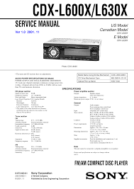 sony cdx l600x wiring diagram sony image wiring pdf manual for sony car receiver cdx l630x on sony cdx l600x wiring diagram