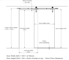door size calculation