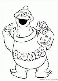 13 Best Coloring Pages Sesame Street Images On Pinterest Monster