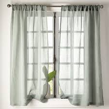 Sheer Linen Window Panel ...