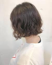 ボブヘアの髪型23選ショート長めパーマストレートアラフォー Cuty