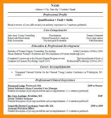 Two Page Resume Sample – Lifespanlearn.info