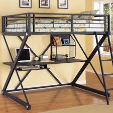 Loft Bedroom For Adults Adult Full Size Loft Bed With Desk Loftbeddealscom