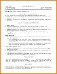 10 Resume Summary Sample Activo Holidays