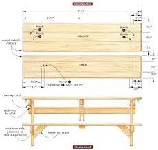 pdf diy unique picnic table plans wall mounted