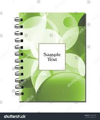 Notepad Template Cover Design Flyer Design Notepad Template Stock Vector Royalty