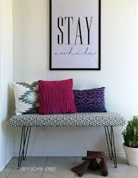 diy modern furniture. Furniture Makeovers, Refinished Modern Furniture, Painted Bench Ideas Diy