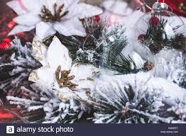 Weihnachtsdekor Weihnachten Oder Neujahr Hintergrund