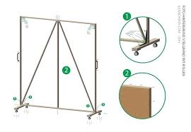 diy movable wall build a background wall on wheels photography large size diy movable partition wall