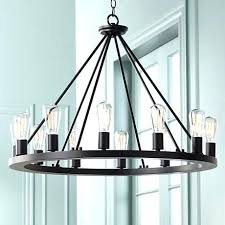 kichler lighting barrington lighting 3 light distressed black and wood chandelier elegant wide round black chandelier kichler lighting barrington