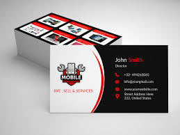 Entry 18 By Kajol2322 For Need Business Cards Template For Mobile