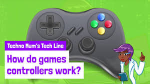 how do games controllers work