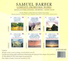 Samuel Barber  Leonard Slatkin  Saint Louis Symphony Orchestra   Barber   Music of Samuel Barber   Amazon com Music