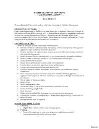 Electrician Cover Letter Entry Level Electrical Apprentice Sample Cover Letter Experience 38