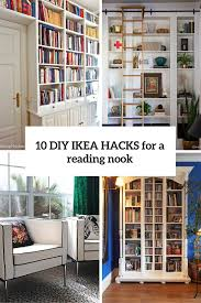 10 diy ikea s for a reading nook cover
