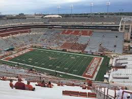 Texas Dkr Memorial Stadium Seating Chart Dkr Texas Memorial Stadium Section 101 Rateyourseats Dkr