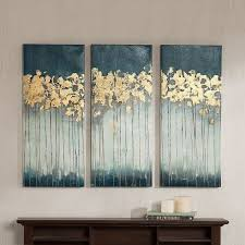 madison park midnight forest gel coat canvas 3 pc wall art set on 3 piece canvas wall art diy with 13 best artwork for the house images on pinterest giclee print