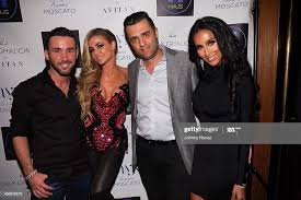 Ethan Arabov, Carmen Electra, Avi Levy and Lily Ghalichi attend the... News  Photo - Getty Images