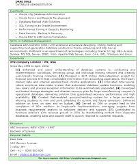 fresh jobs and free resume samples for jobs  database    database administrator cv  resume   bio data