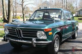 BMW 2002 Tii Excellent condition, Green with Brown interior.