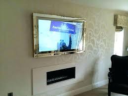 tv mirror frame mirror flat screen hide frame cover frames mirror frame tv mirror frame