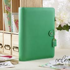 A5 Planner Kit Summer Green Color Crush Websters Pages Free Washi