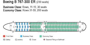 United 767 Seating Chart Boeing 767 300 Seat Map Boeing 767 300 300er Seating Chart