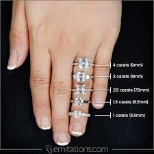 Emerald Cut Diamond Size Chart Diamond Carat Conversion Online Charts Collection