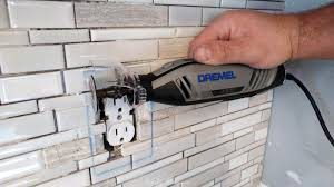 cutting tile with dremel designs