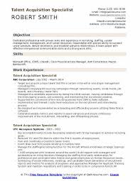 Staffing Specialist Resumes Talent Acquisition Specialist Resume Samples Qwikresume