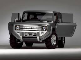 ford new car release2016 Ford SVT Bronco Concept and Release Date  Future Cars Models